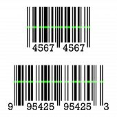 Vector Icon Of Barcode Sign