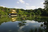 Japan, Kyoto, Kinkaku-ji (Golden Pavilion Temple)