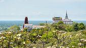 Pagoda On Mountain In Phra Nakhon Khiri Temple