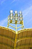 Lighting Tower Of Stadium.