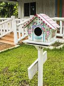 Colorful Wooden Nesting Box