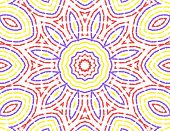 Abstract Color Pattern