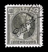 Vintage Luxembourg stamp 1926