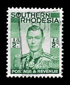 Southern Rhodesia stamp 1937