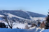 The Erzgebirge in the winter