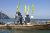 Thai Fisherman And His Wife