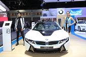 Bangkok - November 28: Bmw I8 Car Unidentified Models On Display At The Motor Expo 2014 On November