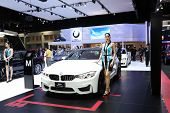 Bangkok - November 28: Bmw M4 Coupe Car Unidentified Models On Display At The Motor Expo 2014 On Nov