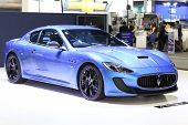 Bangkok - November 28:image Zoom Of Maserati Car On Display At The Motor Expo 2014 On November 28, 2