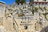 Cava Dei Balestrieri - Quarry Crossbowmen In San Marino. The Republic Of San Marino
