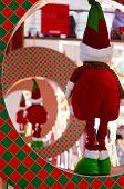 Christmas Elf In Ring