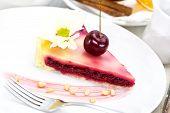 piece of cherry pie