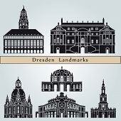 Dresden Landmarks And Monuments
