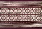 Texture Of Batik Fabric