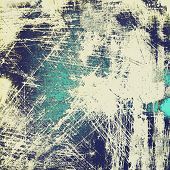 Old, grunge background or ancient texture. With different color patterns: gray; blue; cyan