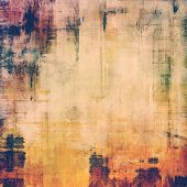 Abstract retro background or old-fashioned texture. With different color patterns: blue; purple (violet); orange; brown; yellow