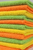 Microfiber towels for cleaning