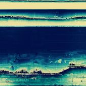 Grunge texture, distressed background. With different color patterns: yellow; blue; cyan