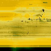 Abstract retro background or old-fashioned texture. With different color patterns: yellow; gray; green; beige