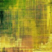 Abstract distressed grunge background. With different color patterns: green; brown; yellow