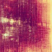 Weathered and distressed grunge background with different color patterns: purple (violet); pink; yellow