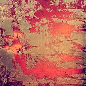 Grunge stained texture, distressed background with space for text or image. With different color patterns: gray; purple (violet); orange; brown