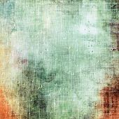 Designed background in grunge style. With different color patterns: gray; brown; green; orange