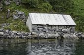 Cottage On The Geirangerfjord