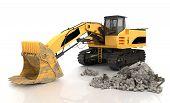 Mechanical Shovel Excavator