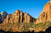 Zion rocky peaks