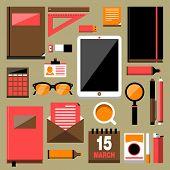 Flat Modern Design Vector Stylish Illustration Concept
