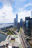 hong kong urban city at day