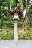 Lamp In Tample , japan