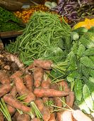 ������, ������: Vegetables In The Market