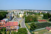 View of the city (Gi?ycko in Poland)