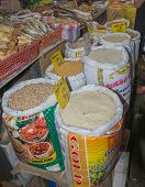 Rice, Chick Peas And Other Products