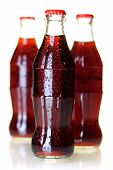 Three Bottles Of Cold Cola