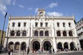 Station In Lisbon. Manueline Architectural Style