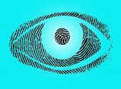 fingerprint eye