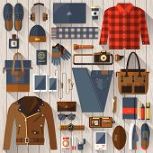Постер, плакат: Every Day Carry And Outfit Accessories