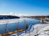 Saskatchewan River valley