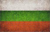 Mosaic Flag of Bulgaria