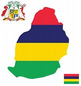 Republic of Mauritius Flag