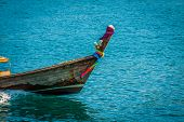 Traditional Thai Longtail Boat