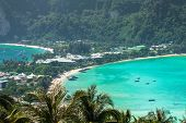 foto of koh phi-phi  - Travel vacation background  - JPG
