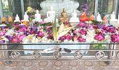 Ceremonial Flower Altar