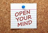 Open Your Mind Message