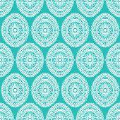 pic of mehendi  - Floral pattern in the style of mehendi - JPG