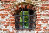 Window In The Old Castle Wall
