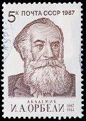 Academician I.a. Orbeli